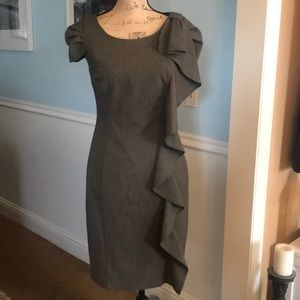 Stunning Calvin Klein dress S6 with tons of detail